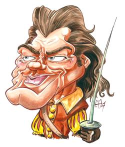 caricature, pour le patrimoine normande, Jean Marais