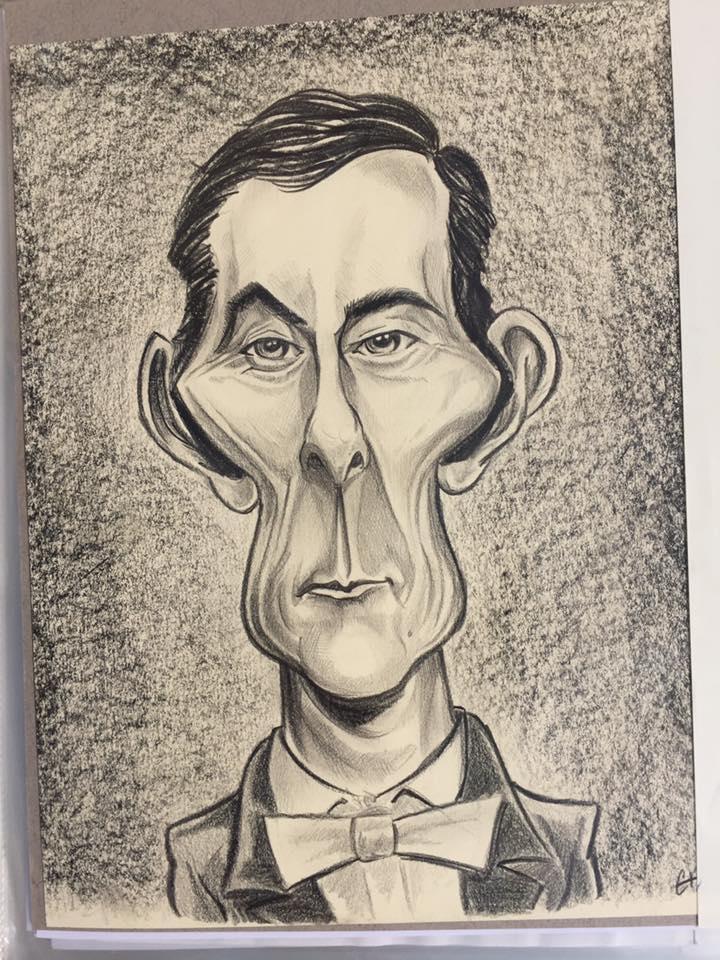 caricature Jean Rochefort