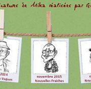 Auteurs, caricature