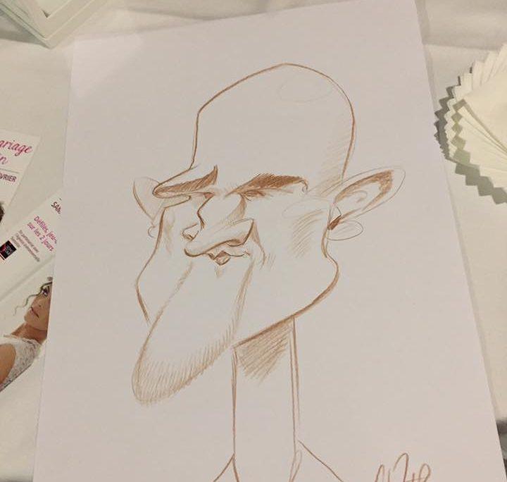 caricatures sAINT brévin, traditionnelle marron