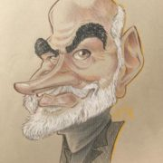 caricature Sean Connery