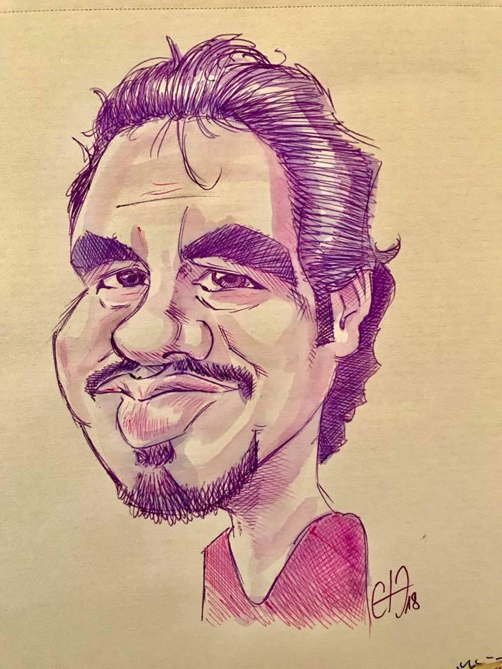 Caricature d'Alexandre Astier